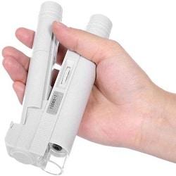 میکروسکوپ جیبی با قدرت بزرگنمایی 100 برابری