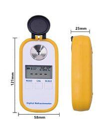 رفراکتومتر دیجیتال قابل حمل بریکس 0 تا 96