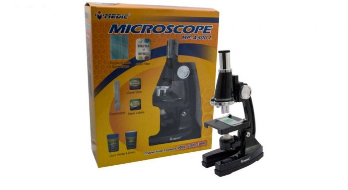میکروسکوپ دانش آموزی 300 برابر