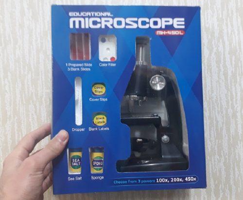 میکروسکوپ دانش آموزی 450 برابر