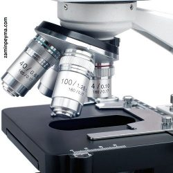 هد میکروسکوپ سه چشمی